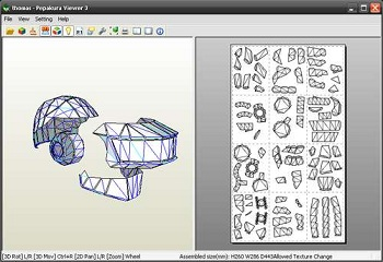 Pepakura Viewer Tutorial : Fabriquer un masque des Daft Punk (Thomas Bangalter)
