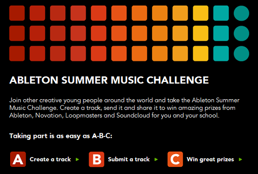 ableton summer challenge Ableton Summer Music Challenge