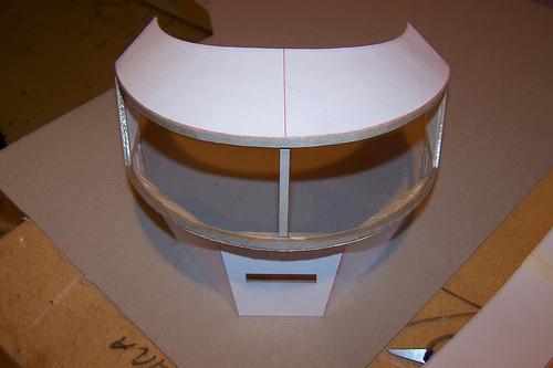 casquedaft1 Tutorial : Fabriquer un masque des Daft Punk (Thomas Bangalter)