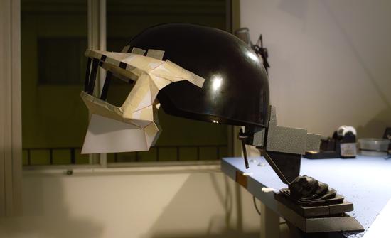 casquedaft7 Tutorial : Fabriquer un masque des Daft Punk (Thomas Bangalter)