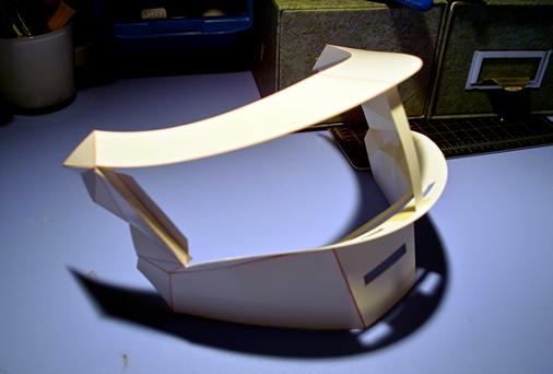 découpage collage casque thomas bengalter Tutorial : Fabriquer un masque des Daft Punk (Thomas Bangalter)