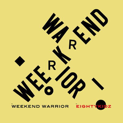 weekend warrior Le nouvel album des 80Kidz sortira le 20 Octobre prochain sous le nom de Weekend Warrior
