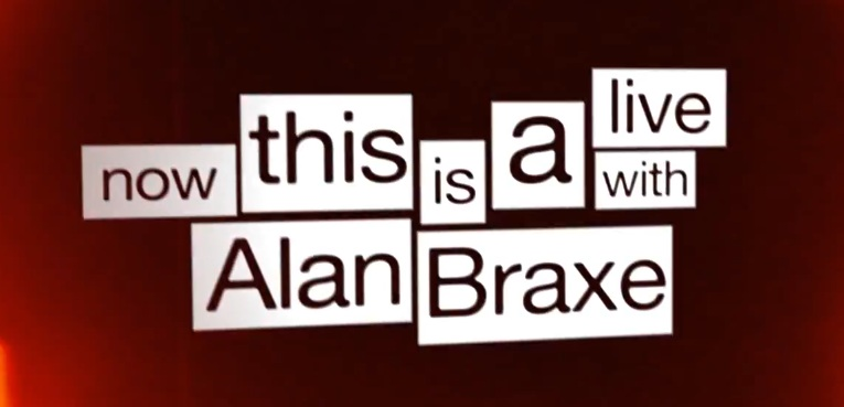 A Live With ALAN BRAXE