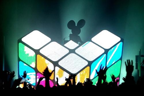deadmau5 Rubik's cube