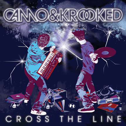Camo Crooked Cross The Line Le nouvel album du duo Camo & Crooked   Cross The Line   se dévoile ! (Tracklist, Cover & Date de sortie)