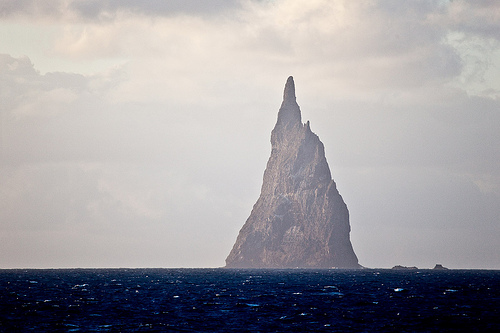 Ball's Pyramid. Lord Howe Island.
