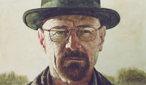 Heisenberg Painting Say My Name