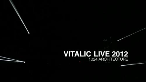 Vitalic live 2012