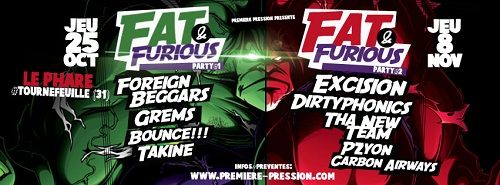 FAT FURIOUS Party 2 @ Toulouse FAT & FURIOUS Party 2 @ Toulouse | Jeu concours
