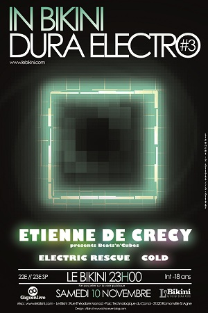 In Bikini Dura Electro 3 - Etienne de Crecy