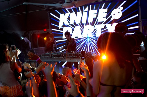 Knife Party Dancing Astronaut