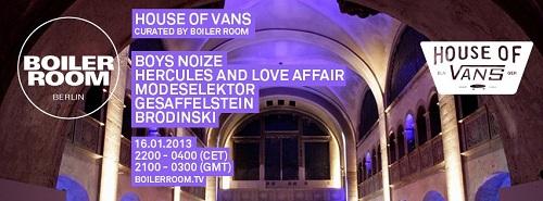 Boiler Room (Boys Noize, Modeselektor, Brodinski & Gesaffelstein)