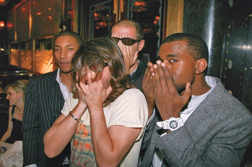 Pharrell Williams - Daft Punk - Kanye