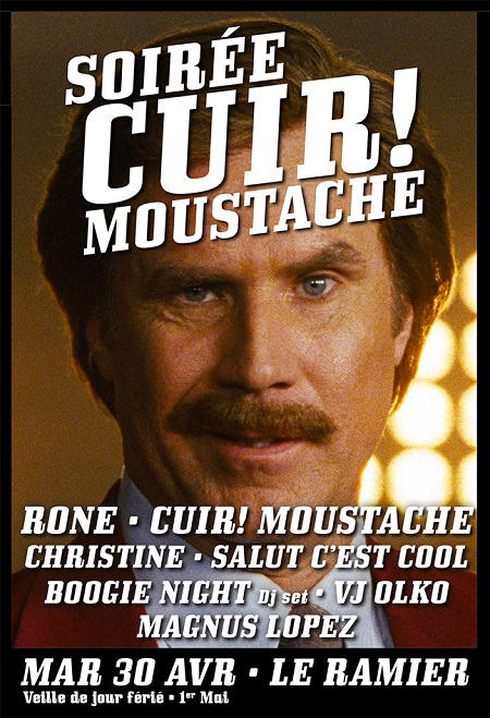 Cuir Moustache Toulouse Rone Soire Cuir! Moustache avec Rone @ Toulouse | Jeu concours