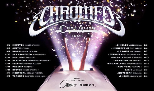 Chromeo 2014 Tour