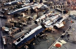 SR-71 factory floor