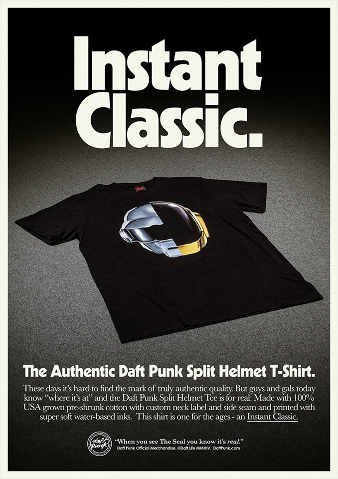 Daft Punk Merch Tee Shirt RAM