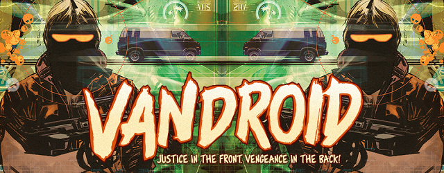 Vandroid Comic Book