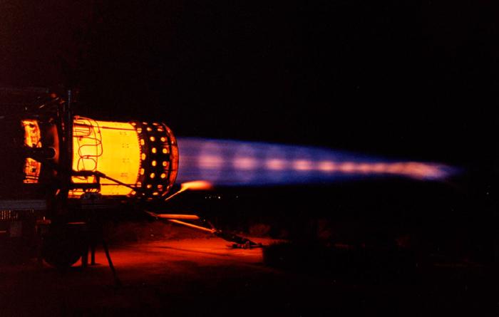 SR-71 Blackbird Engine Test