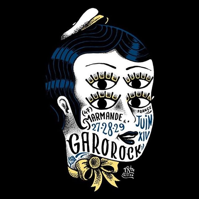 Garorock 2014 logo