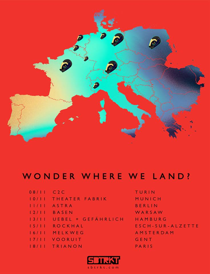 Wonder Where We Land EU Tour