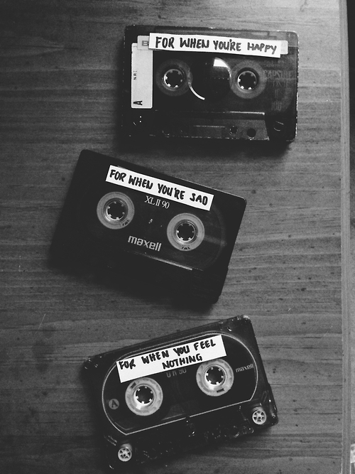Mixtapes B&W